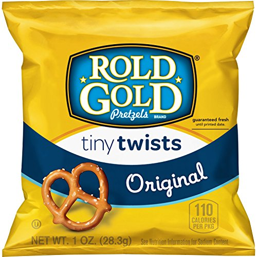 - Rold Gold Tiny Twists Pretzels, 1 Ounce (Pack of 40)