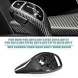 Gear Shift Knob Cover for BMW 2012-2017 Dry Carbon Fiber(CF)