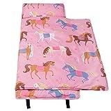 Wildkin Microfiber Nap Mat, Horses, One Size