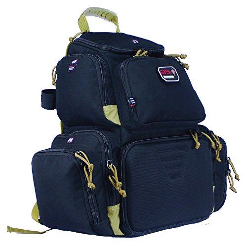 G.P.S. Handgunner Backpack, Black/Tan