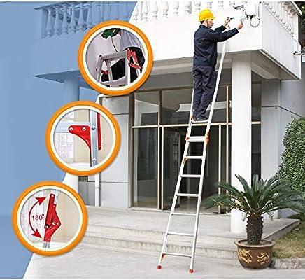 XSJZ Escalera Multifunción Pequeña, 4 Pasos, Portátil Y Portátil, Aleación de Aluminio Plegable Escalera de Aumento Adecuada para El Hogar Ascendente de Escaleras Mecánicas Escalera Plegable: Amazon.es: Hogar