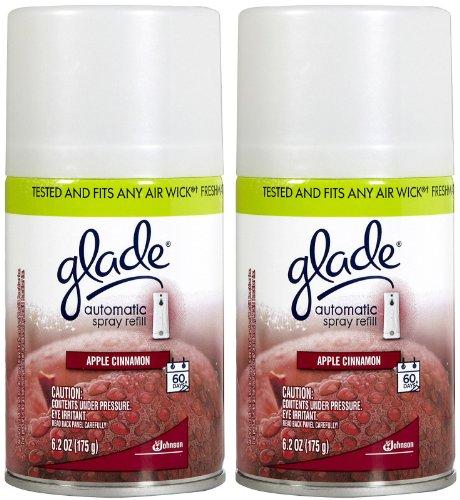 Glade Automatic Spray Refill - Apple Cinnamon - 6.2 oz - 2 - Aerosol Apple
