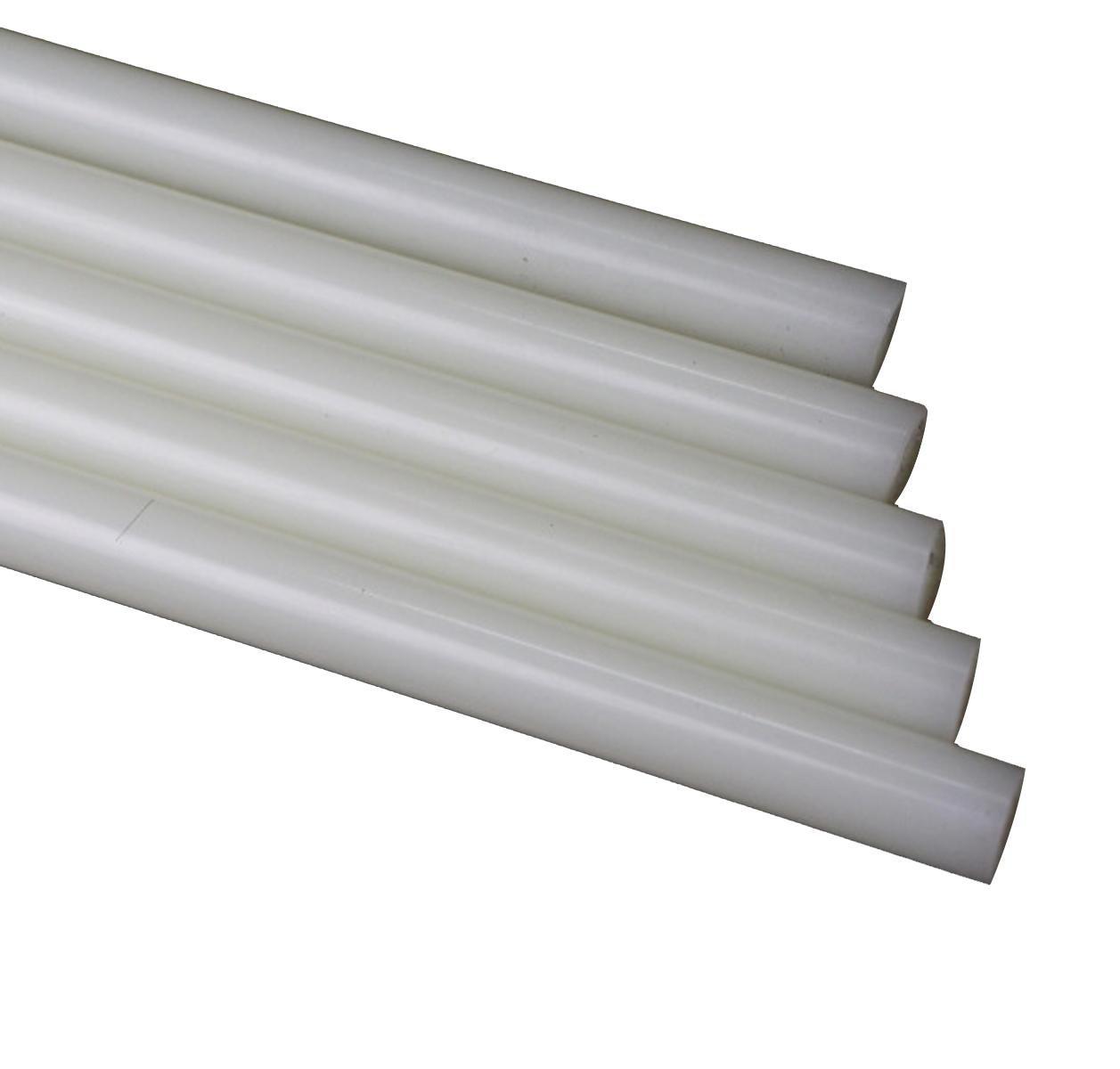 3pcs 35.5mm Diameter 13'' PA6 Nylon Round Rod Stick Bar Stock White by CGjiogujio