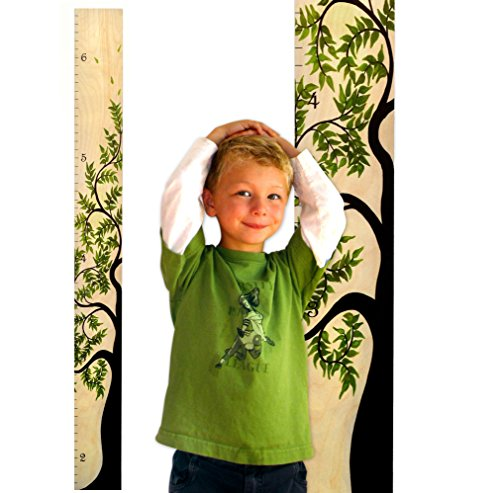 ON SALE! Growth Chart Art | Wooden Ruler Growth Chart for Ki