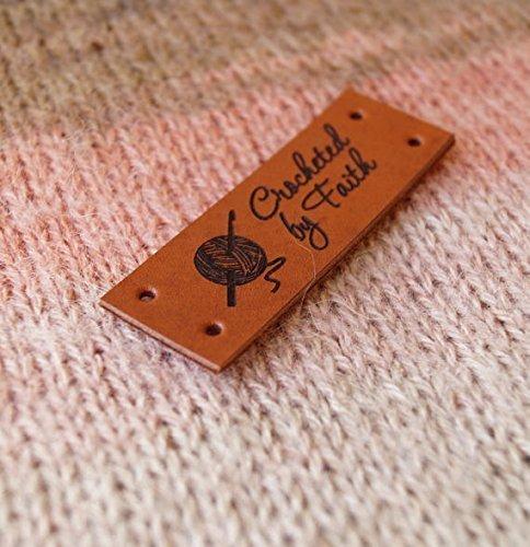 amazon com custom garment labels leather labels personalized logo