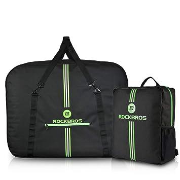 HSNMEY Fahrrad Transporttasche 600D Nylon Tragetasche mit