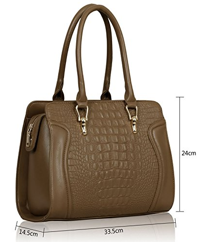 Leather Nude Designer Handbags Bags 3 Ladies New Sale Shoulder Faux Womens Large Tote Design wC6YqU1xx