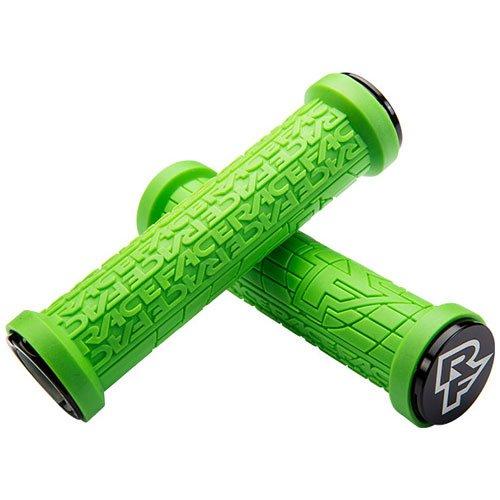 (RaceFace Grippler Lock-On Grips Green, 30mm)