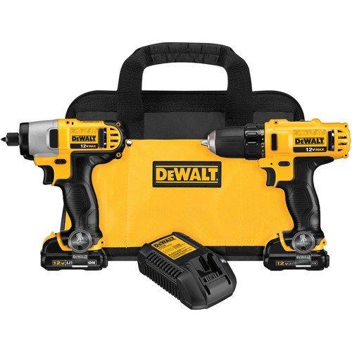 Dewalt Tools DCK211S2 12V Lithium Ion Drill/Impact Combo Kit