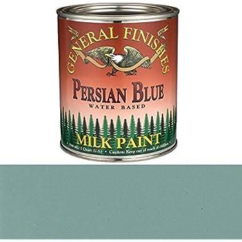 General Finishes Persian Blue Milk Paint Quart