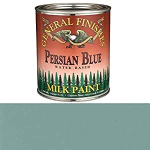 General Finishes Persian Blue Milk Paint Quart