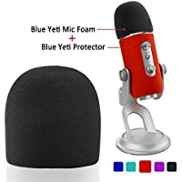 SUNMON Blue Yeti Windscreen Cover Suit –Microphone Pop...