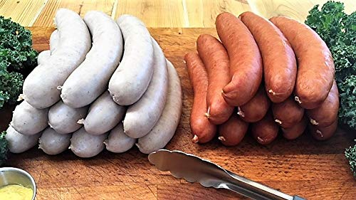 6 lb. German-Style Cooked/Smoked Bratwurst Grill Pack