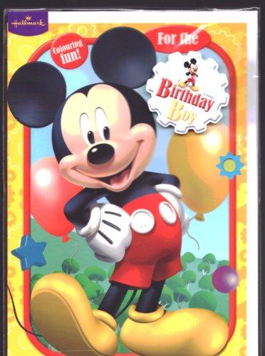 Hallmark Saludos casa de Mickey Mouse del muchacho del ...
