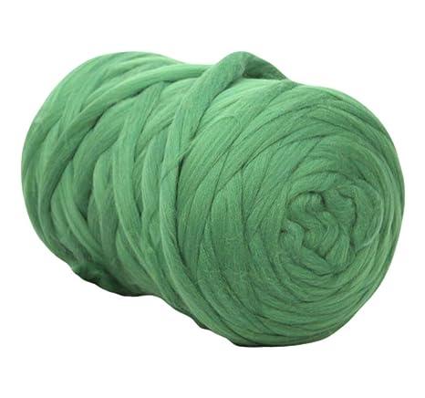 Amazon.com: Manta gruesa de lana gruesa de hilo grueso para ...