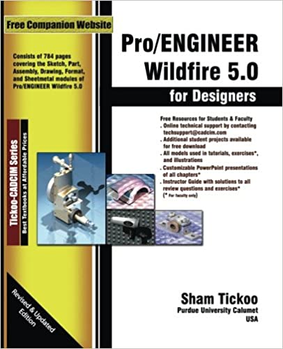 Book Pro/ENGINEER Wildfire 5.0 for Designers Textbook