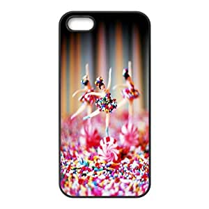 Lollipop Series, IPhone 5,5S Case, Candy Ballet Case for IPhone 5,5S [Black]