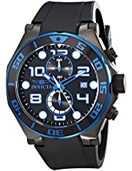 Invicta Mens 17816 Pro Diver Analog Display Japanese Quartz Black Watch