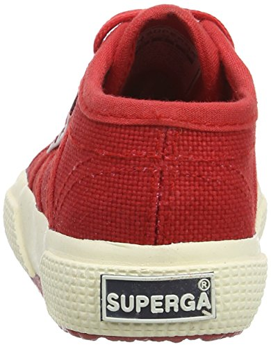 Superga 2750 Bebj Baby Classic, Unisex-Kinder Sneakers Rot (Red 975)
