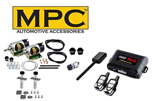 MPC 2-Door 45lb Shaved Handle Door Popper with Remote Starter Combo Kit