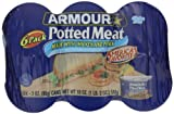 Armour Potted Meat, Chicken and Pork 3 Ounce, 6 Count (Pack of 4)