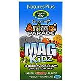 Nature's Plus, Animal Parade, MagKidz, Children's Magnesium, Natural Cherry Flavor, 90 Animals