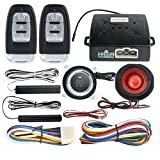 EASYGUARD EC003 Smart Key PKE Passive Keyless Entry Car Alarm System engine start button Remote Engine Start Universal Version