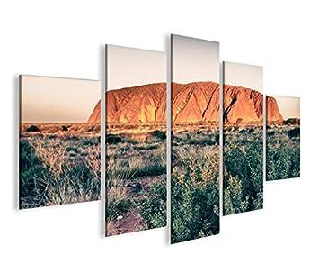 Modernes Bild Ayers Rock Uluru In Australien MFP Druck Auf Leinwand U2013  Rahmen X Sessel Wohnzimmer