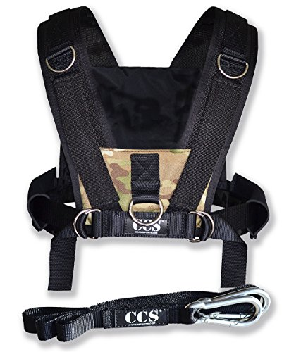 Cheap ComCor Pro Sled Harness – Camo – Made in The USA