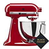 Cheap Kitchen Aid Tilt-Head Stand Mixer 4.5 Quart KSM85PBER, Empire Red