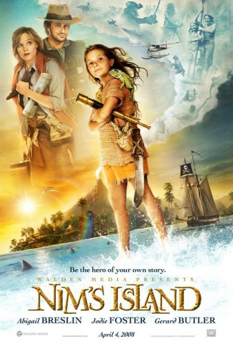 NIM'S ISLAND Movie Poster DS