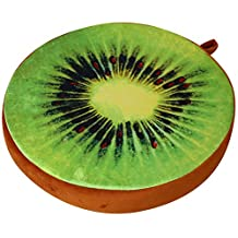 ChezMax 3D Fruit Dessert Cake Chair Seat Sofa Back Stuffed Cushion Insert Filler Filling For Decor Home Xmas Office Plush Play Toy Throw Pillow Student Kiwi
