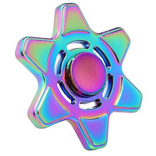 Price comparison product image Wangyue New Rainbowl Style Little Turtle Hand Spinner Fidget Toy for Children and Adults