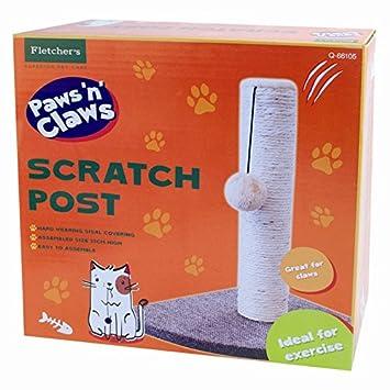 Esquina rascador gato rígida Sisal Covering mascota perro Scratch Pad: Amazon.es: Productos para mascotas