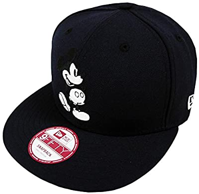 New Era Mickey Mouse CL Navy Snapback Cap 9fifty M L Special Limited Edition Disney