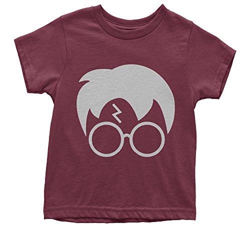 Youth Harry Glasses Lightning Bolt Hair T-Shirt Medium - Harry Styles Glasses In