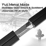 Adust Sasuke Sword, Japanese Ninja Katana Samurai