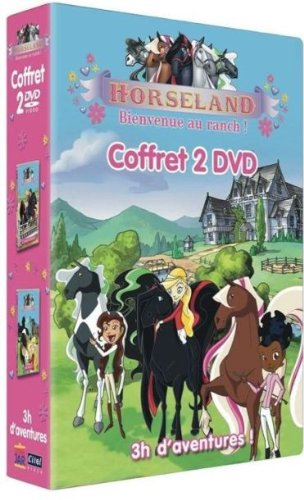 Amazon Com Horseland Bienvenue Au Ranch Coffret 2 Dvd