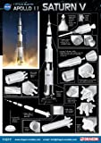 Dragon Models Apollo 11 Saturn V Spacecraft Building Kit, 1/72-Scale