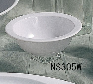 Thunder Group NS305W 5-1/2-Inch, Grapefruit Bowl, 10-Ounce, White, Pack of -