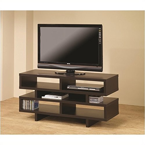 Coaster 700720 Home Furnishings TV Console, Cappuccino