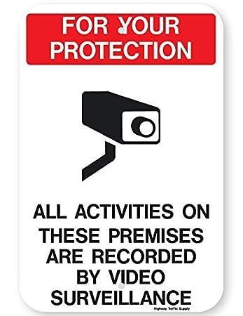 Cartel de Aluminio no Reflectante de Vinilo protección de ...