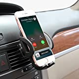 CloudValley Universal [2 PACK] Cell Phone Car Air Vent Mount Holder Cradle Compatible with iPhone 7 7 Plus 6s 6 Plus 6 SE 5s 5 4s Samsung Galaxy S8 Edge S7 S6 S5 S4 LG Google Nexus Sony and More