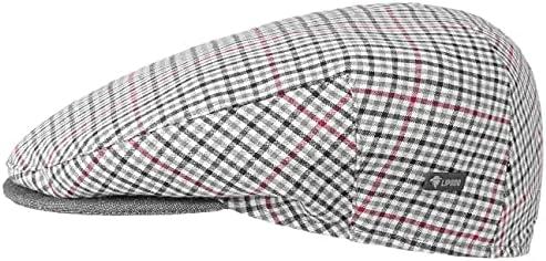 Lipodo Inglese Bic Pet DamesHerenMade in Italy zomer cap flat hat met klep voering voor LenteZomer