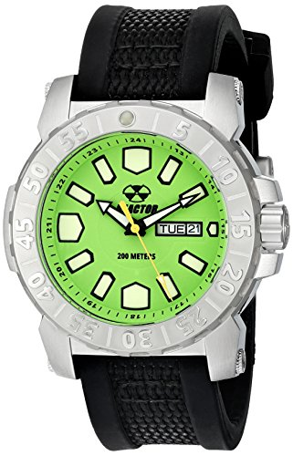 REACTOR Men's 76809 Meltdown 2 Analog Display Japanese Quartz Black Watch