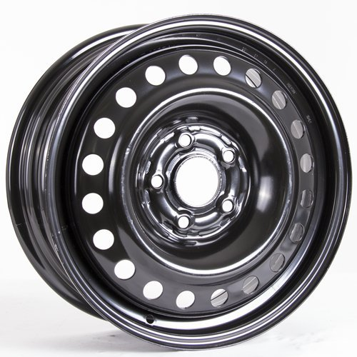 Steel Rim 16X6.5, 5X114.3, 64.1, +55, black finish (MULTI APPLICATION FITMENT) X99144N