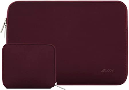 Light Purple MOSISO Laptop Sleeve Compatible with 13-13.3 inch MacBook Pro Notebook Computer MacBook Air Water Repellent Neoprene Bag with Small Case