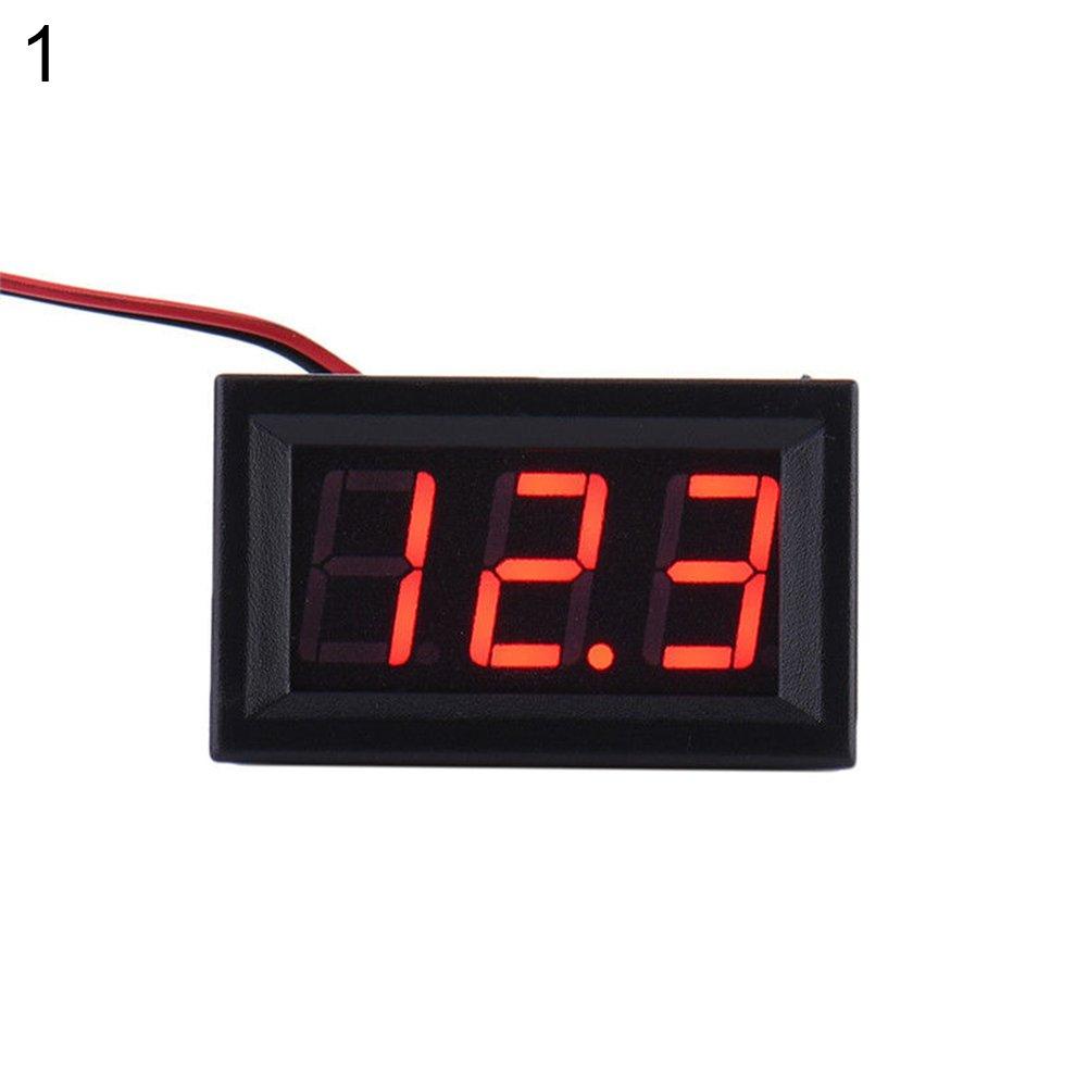 Blue wiFndTu DC 3.2-30V Two-Wire Voltmeter LED Panel Digital Display Voltage Meter Device