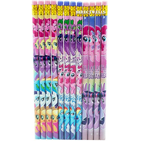 My Little Pony 12 Wood Pencils Pack