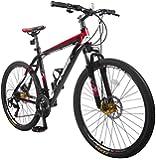 "Merax® Finiss 26"" Aluminum 21 Speed Mountain Bike with Disc Brakes"